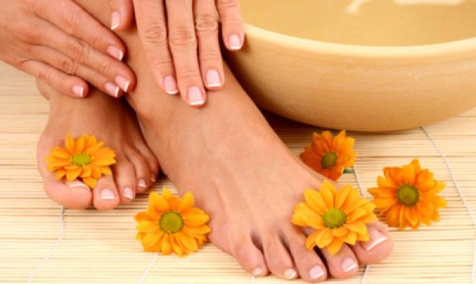 Трескается кожа между пальцев ног