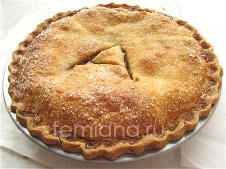 Американский яблочный пирог рецепт