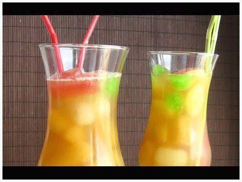 Безалкогольные коктейли в домашних условиях