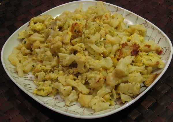 Цветная капуста с яйцом рецепты