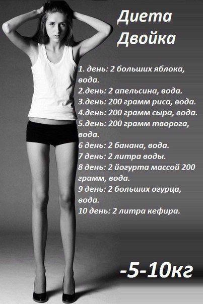 Диета 7 кг за неделю