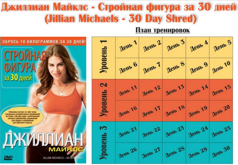 Джилиан майклз похудей за 30 дней