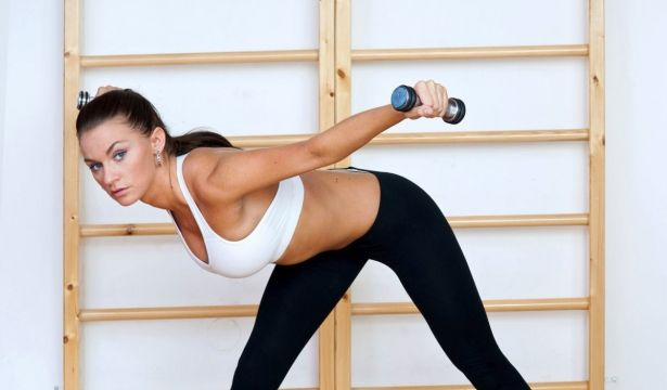 Фитнес дома для похудения видео