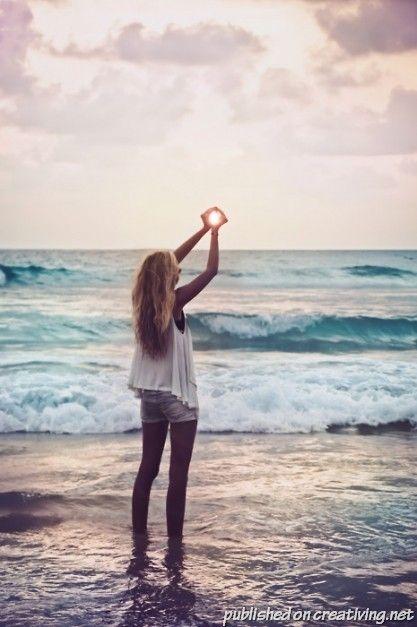 Фотосессия на пляже идеи