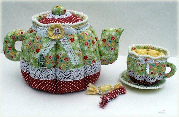 Как сделать красивый чайник