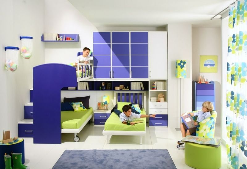 Интерьер для детской комнаты мальчика