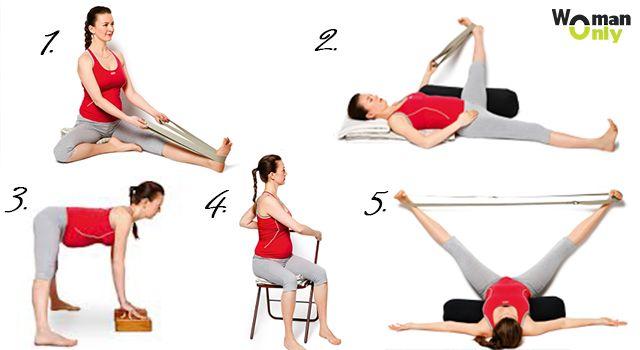 Йога для беременных асаны