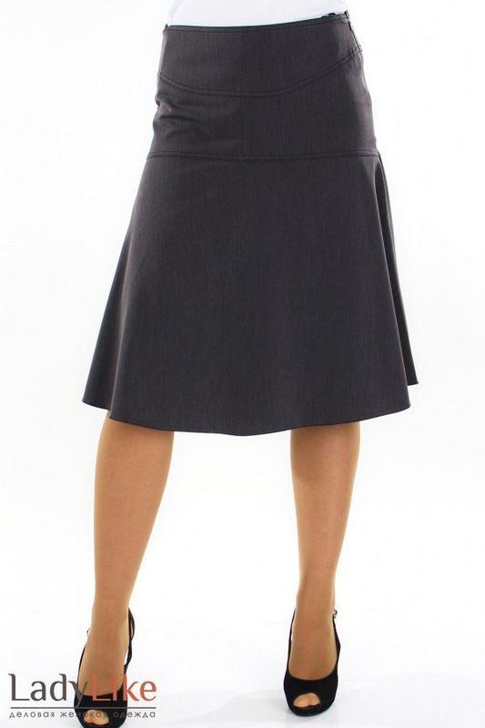Шитье юбки трапеции