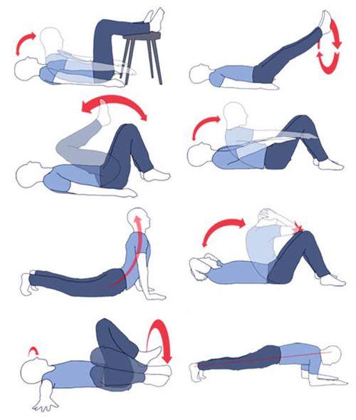 Как быстро убрать живот упражнения