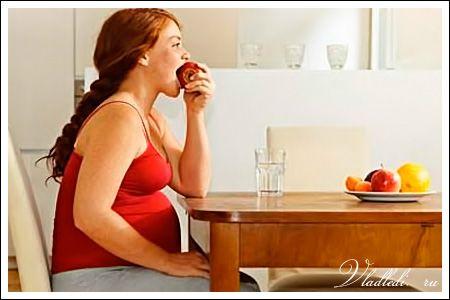 Как не набрать лишний вес при беременности