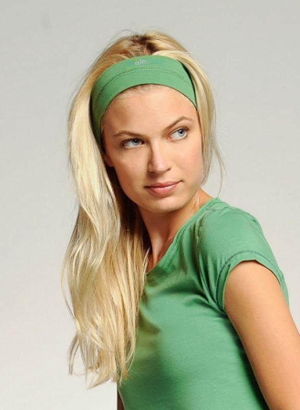 Как носить повязку для волос