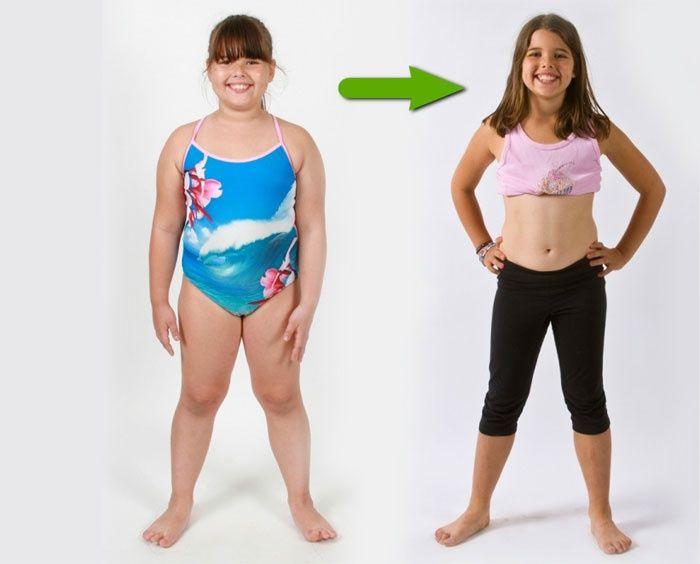 Как похудеть подростку в 12