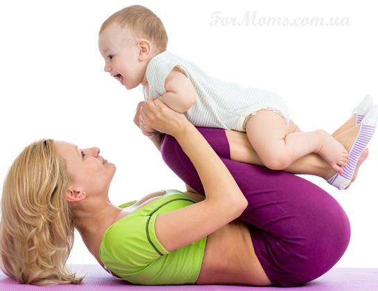 Как похудеть после родов кормящей маме