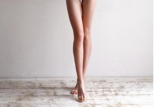 Как убрать жир с коленей