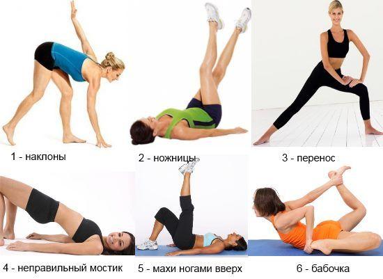 Как уменьшить объем ног
