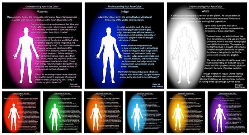 Как увидеть ауру человека