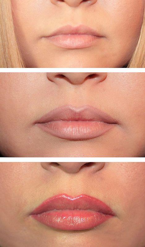 Как визуально увеличить губы
