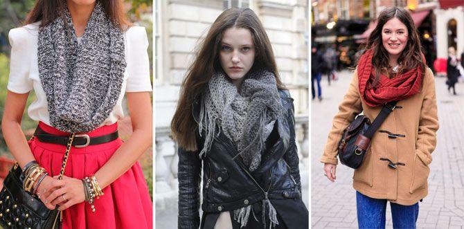 Как завязывать шарфы платки палантины