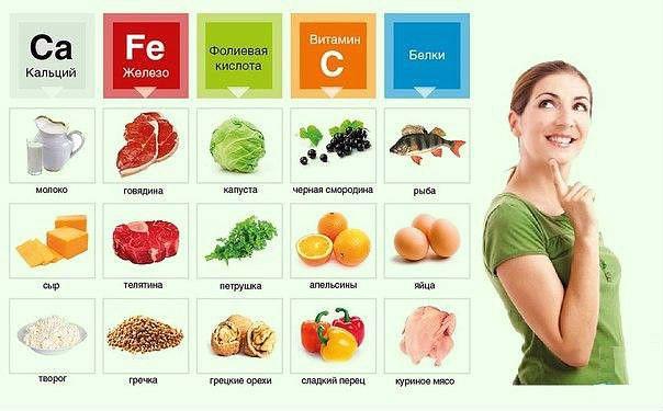 Пища богатая белками для беременных