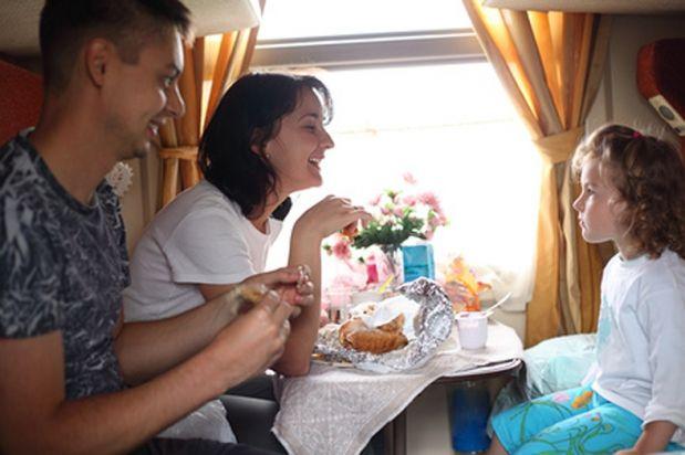 Какие продукты взять в поезд