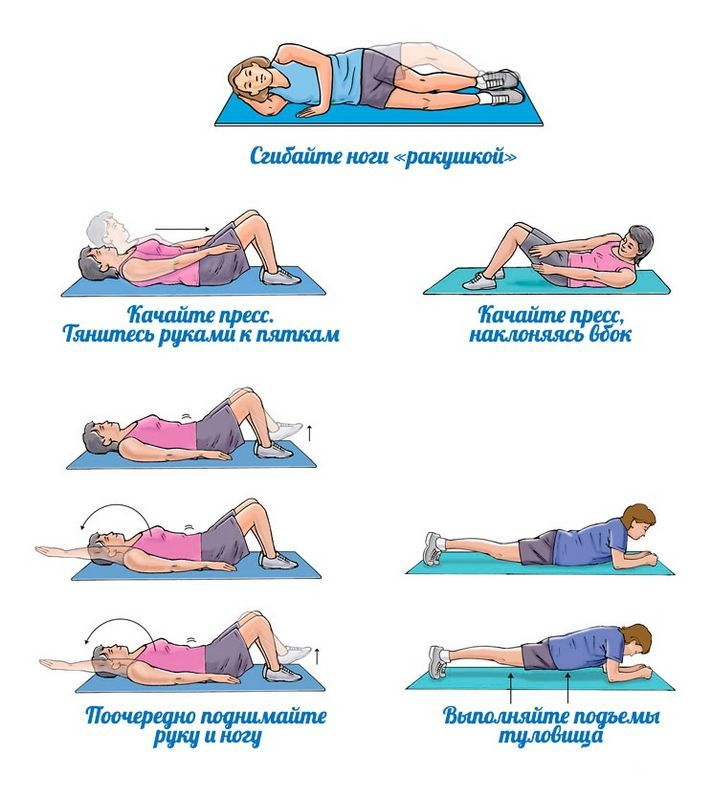 Какие упражнения нужно делать чтобы убрать живот