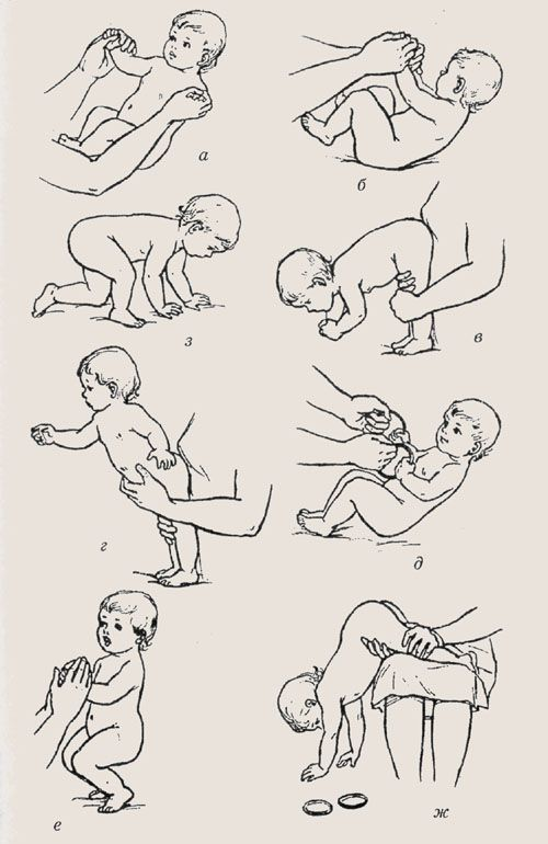 Когда ребенок начинает сидеть