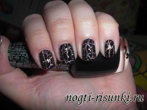 Кракелюр лак для ногтей