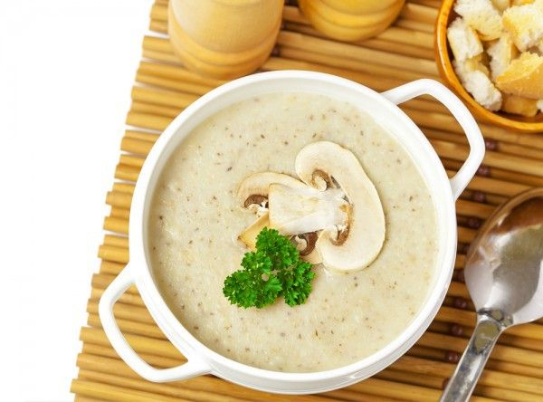 Крем суп из шампиньонов
