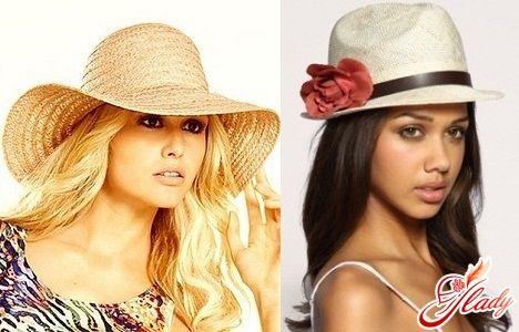 Летние шляпы женские