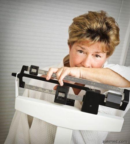 Лишний вес при климаксе как бороться