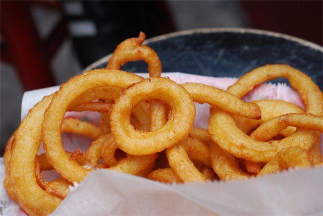 Луковые кольца в кляре рецепт с фото