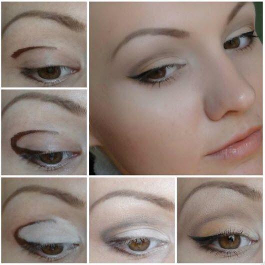 Макияж для круглых глаз