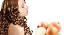Маска для волос из лука