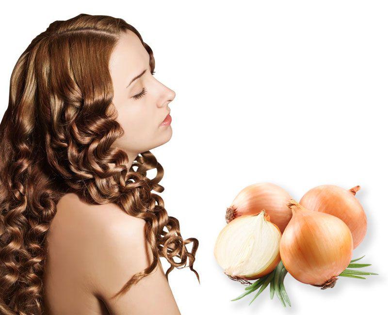 Маска лук для волос