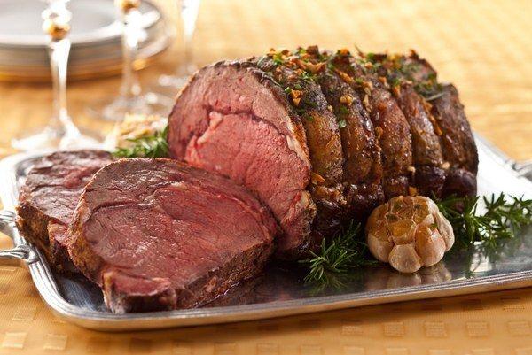 Мясо запеченное в фольге