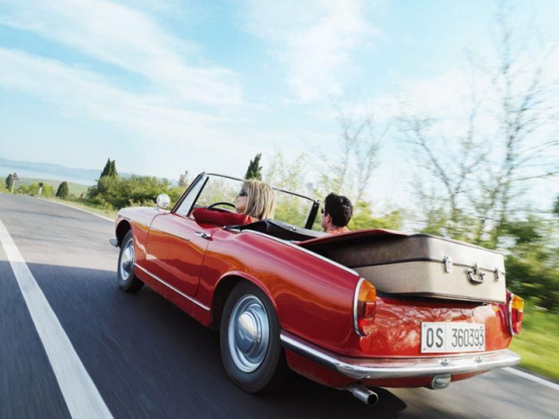 На автомобиле по европе