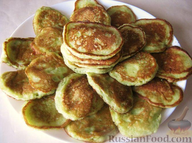 Оладьи из кабачков сладкие рецепт