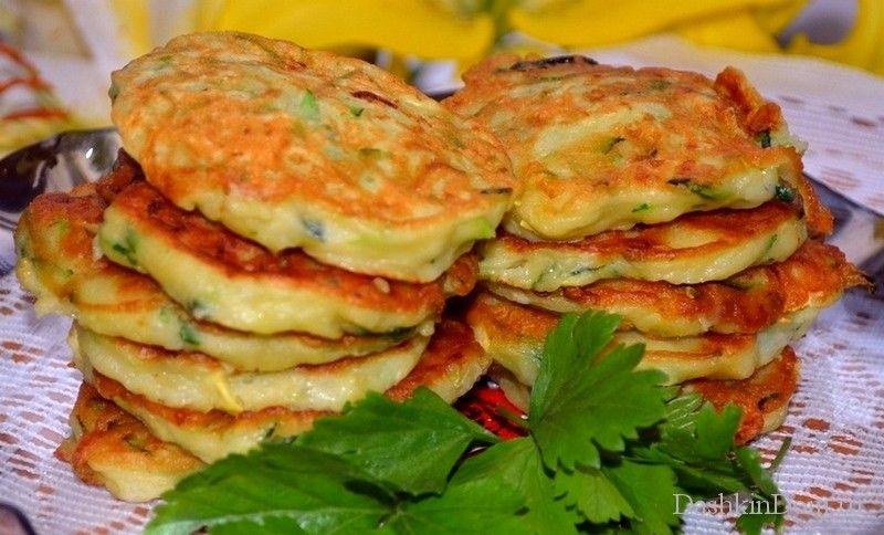 Оладушки из кабачков рецепт