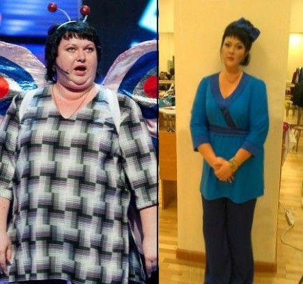 Ольга картункова похудела до и после
