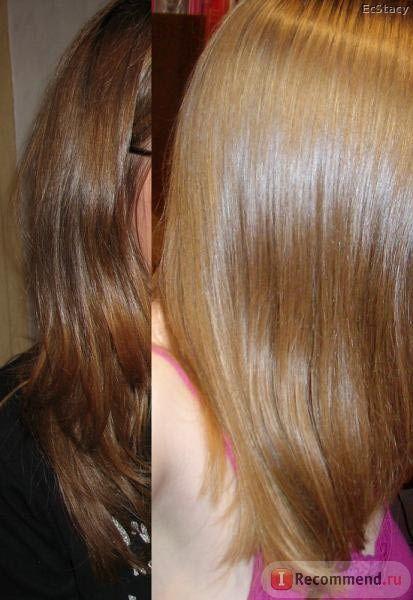 Осветление волос народными средствами