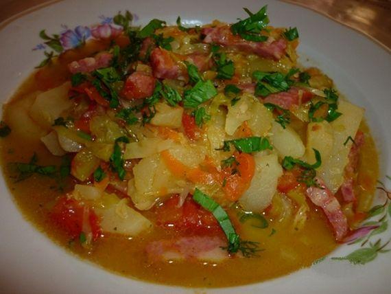овощное рагу с капустой в мультиварке рецепты с фото