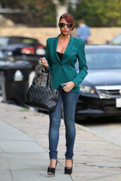 Пиджаки женские под джинсы