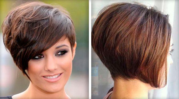 Прически на короткие волосы каре