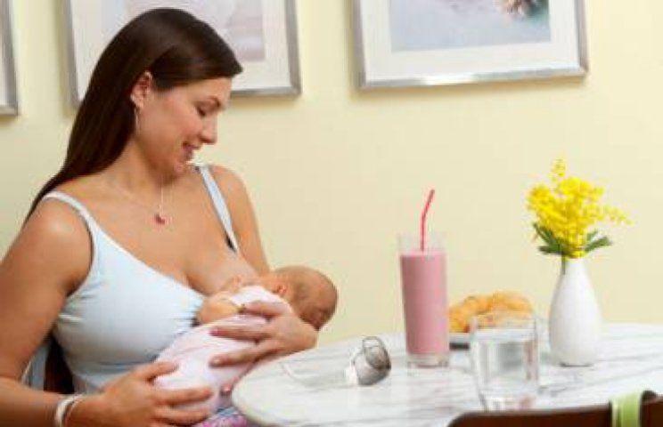 Примерное меню кормящей мамы