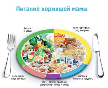 Рацион питания кормящей мамы