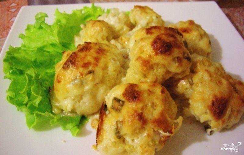 Рецепт цветной капусты в духовке
