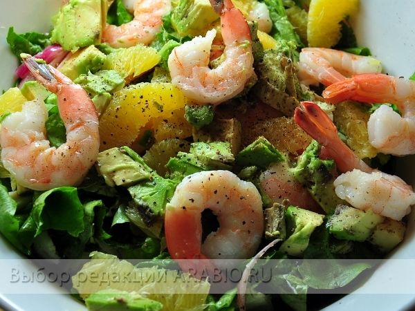 Рецепт салат из морепродуктов