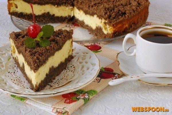Рецепт творожный торт