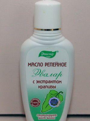 Репейное масло для роста волос
