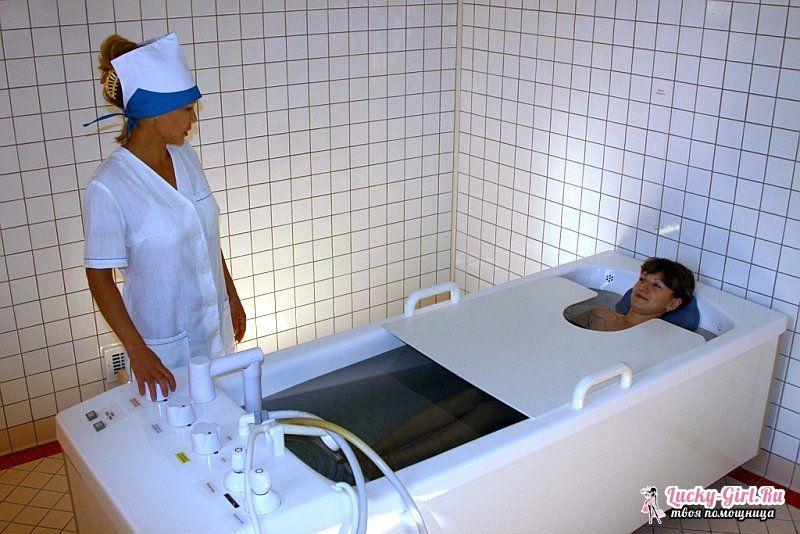 Сероводородные ванны показания и противопоказания